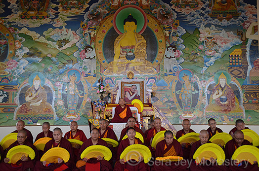 Lharam Geshe Graduation Ceremony 2016