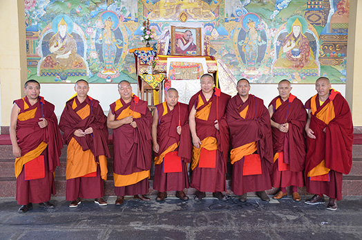 winter Lingse Geshe Ceremony 2016