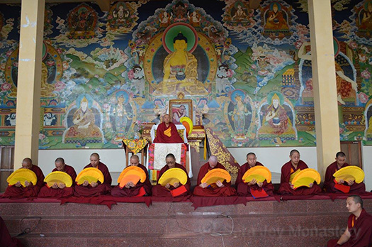Geshe Lingse Graduation Ceremony May2017